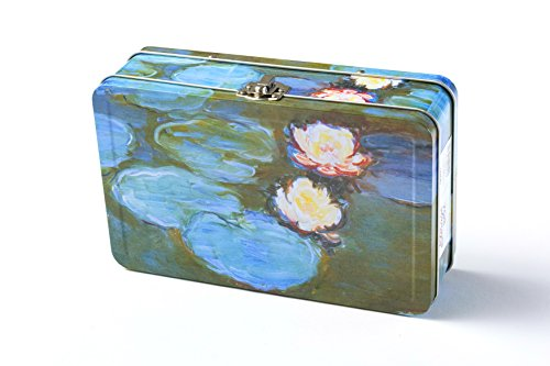 Water Lily Metal (DaHo Metal Storage Box (Water Lilies))