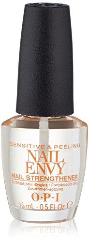 OPI Nail Envy Nail Strengthener, Sensitive and Peeling, 0.5 fl. oz.