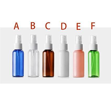 Alamor 1 Pc 50Ml Spray De Hombro Redondo Botella De Plástico Para Mascotas Botella De Dispensación