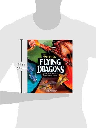 41xQXSjC84L - Klutz Paper Flying Dragons Craft Kit