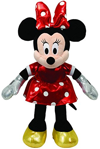 Ty Beanie Babies Minnie Red Sparkle Plush ()