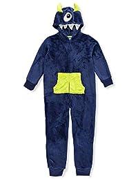 Boys Only Boys' 1-Piece Hooded Pajamas