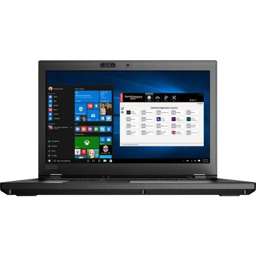 Lenovo ThinkPad P52 Xeon 15.6 inch IPS SSD Quadro Black