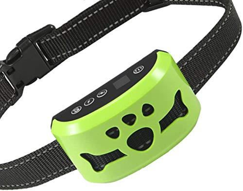 ZNFSZ Dog Bark Collar Anti Barking Control Device, Ultrasonic Dog Bark Deterrent, Dog Bark Control Training Collar for…