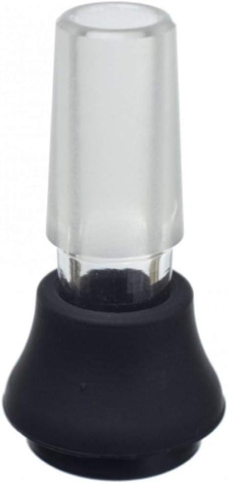 Vaporizador - X-Max V2 Pro/Storm - Boquilla de vidrio 2 en 1 y 14.5 Adaptador de bong pulido encaja en el adaptador Chillum de cada Bong NO NICOTINA