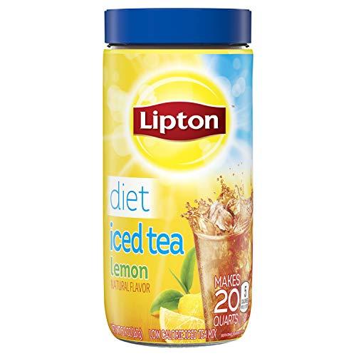 (Lipton Black Iced Tea Mix, Diet Lemon 20 qt, pack of 6 )