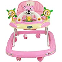 PANDA Creation Adjustable Musical Walker (Pink)