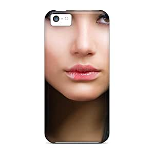 Protection Case For Iphone 5c / Case Cover For Iphone(woman Faces Women Lips Portrait)