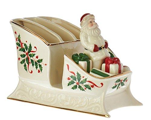 Lenox Centerpiece - Lenox Holiday Santa Sleigh Caddy