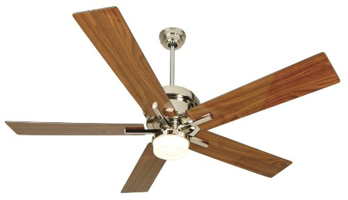 Craftmade-GR52PLN-Grant-52-Inch-Ceiling-Fan-Polished-Nickel-Motor-with-Grant-Walnut-Blades-and-Integrated-Light-Kit