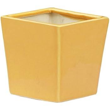 Amazon 45 inch ceramic yellow simple design succulent plant this item 45 inch ceramic yellow simple design succulent plant potcactus plant pot flower potcontainerplanter mightylinksfo