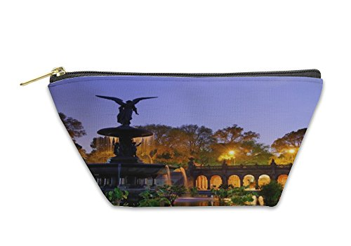 Gear New Accessory Zipper Pouch, Bethesda Terrace In Central Park, Large, - Stores In Bethesda