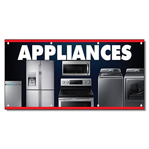 Appliances Business 13 Oz Vinyl Banner Sign With Grommets 5 Ft X 12 Ft