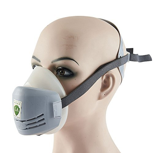 Mufly Respirator Dust Mask KN90 Pm2.5 Half Facepiece Reusable Respirator Gas Protection Filter Respirator