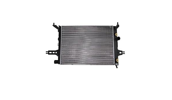 Radiador de agua OPEL ASTRA G 1.4 16V 1.6 + 16V 1.8 16V OPEL ZAFIRA A 1.6 CNG 1.6 16V 1.8 16V SOLO PARA VEHICULOS SIN AIRE ACONDICIONADO: Amazon.es: Coche y moto