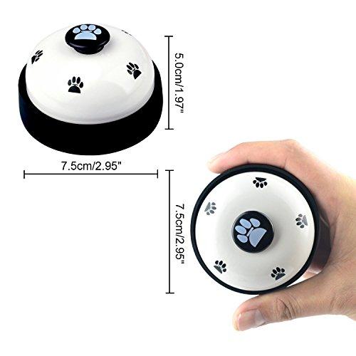 LINPOZONE Pet Training Bells (2 Pack), Dog Bells Potty Training Communication Device by LINPOZONE (Image #3)