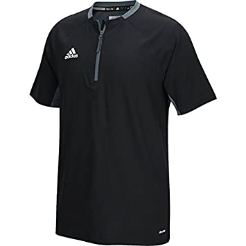 Amazon.com: adidas Mens Fielder's Choice Cage Jacket: Sports ...