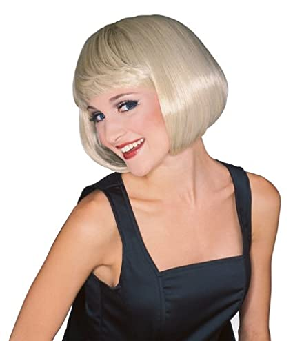 Amazon Rubies Costume Womens Blonde Super Model Wig One Size Clothing