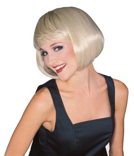 [Rubie's Costume Women's Blonde Super Model Wig, Blonde, One Size] (Scissors Paper Rock Costume)