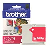 Brother Magenta Inkjet Cartridge For MFC-240C Multi-Function Printer. LC51M MAGENTA INK CART DCP130C & MFC-240C/465CN/685CW/885CW/3360C I-SUPL. Inkjet - 500 Page Black, 400 Page Color - Magenta