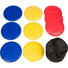 9-Piece Disc Golf Set with Carry Bag By Trademark Innovations