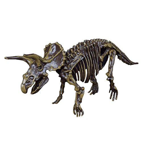 Bettal Excavation Archaeology Dinosaur Toys for Boys 3 Years Old and Above, Triceratops Figure Model Children Toy