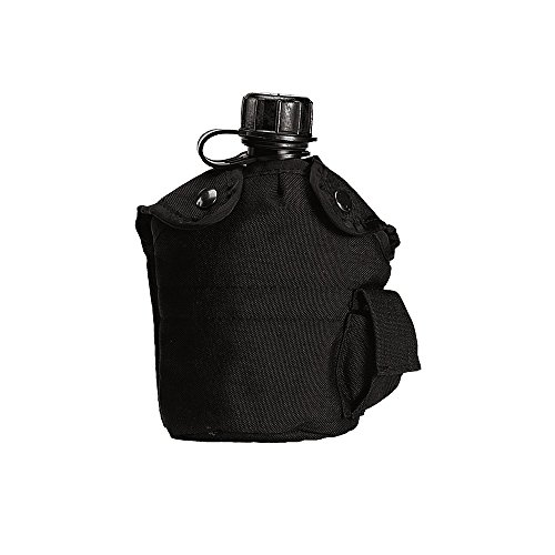 Rothco Enhanced Nylon 1Qt Canteen Cover, Black by Rothco