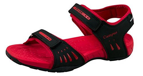 f1fa3f8fc48 CamPUs Men s Red Synthetic Sandals -10 Uk  Buy Online at Low Prices ...