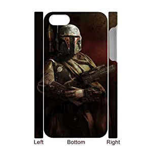 J-LV-F Diy hard Case Star Wars Soldier customized 3D case For Iphone 4/4s