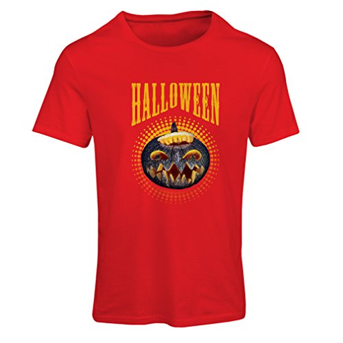 T Shirts for Women Halloween Pumpkin - Clever Costume Ideas 2017 (XX-Large Red Multi Color)]()