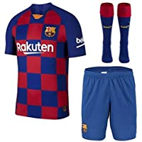 Barcelona Home Whole Kit Jersey with Shorts and Stockings 2019-2020