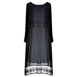 Funhouse Victorian Valentine Gothic Steampunk Juliet Renaissance Dress Black L XL 1X