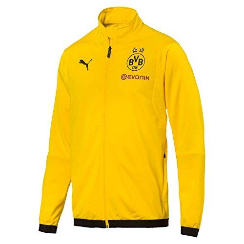 PUMA 2018-2019 Borussia Dortmund Poly Jacket (Yellow) ()