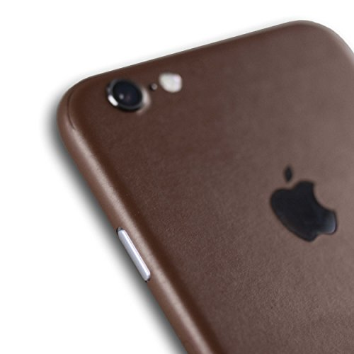 AppSkins Folien-Set iPhone 6s Full Cover - Color Edition brown