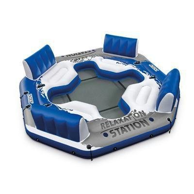 Intex Pacific Paradise Relaxation Station Water Lounge 4-Per