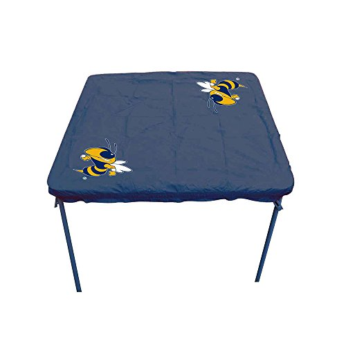 Tech Yellow Jackets Card Table Cover ()