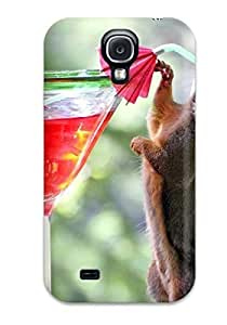 [aSoVkTz1498qypVz]premium Phone Case For Galaxy S4/ Funny Squirrel Pictures Tpu Case Cover
