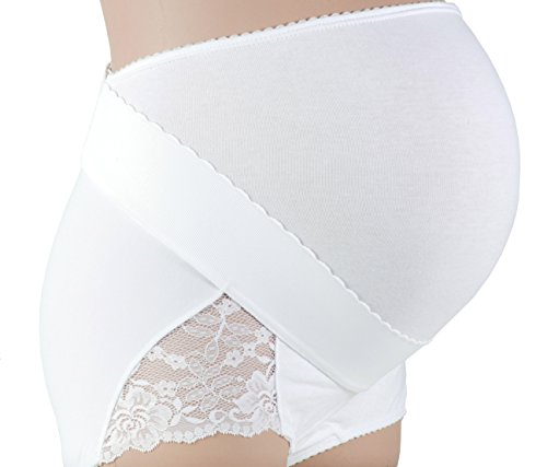 Gabrialla Maternity Support Girdle-Panty with Adjustable Band (light support), Large by GABRIALLA (Image #7)