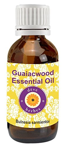 Deve Herbes Pure Guaiacwood Essential Oil 30ml (Bulnesia sarmientoi)