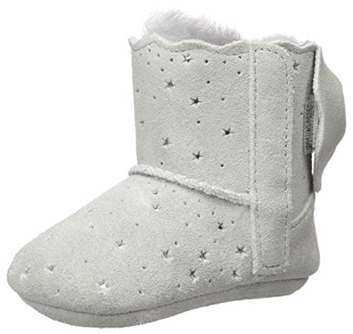UGG Girls' Jesse Bow II Starry LITE Fashion Boot, Grey Violet, 02/03 M US Infant (Light Grey Ugg Boots)