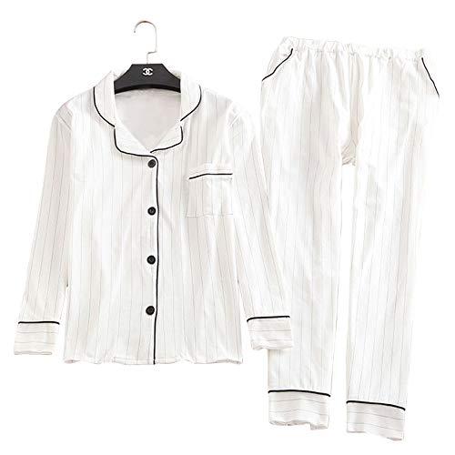 Pezzi A Due Maniche Classico Color Shirt Lunghe Collo Maniche A Photo V A Bianca Mmllse E Con T Pantaloni A Lunghe IXOAgg