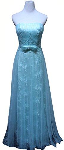 Bandeau Damen Drasawee Blau Blau Kleid gH5qFB
