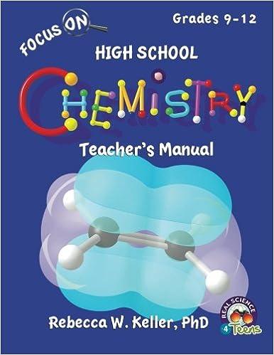 Descarga gratuita de ebooks textiles. Focus On High School Chemistry Teacher's Manual 1936114976 (Spanish Edition) PDF iBook