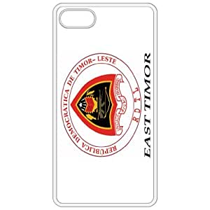 East Timor Coat Of Arms Flag Emblem White Apple Iphone 5 Cell Phone Case - Cover