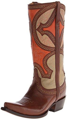 Lucchese Bootmaker Kvinners Leila Vestlige Boot Whisky