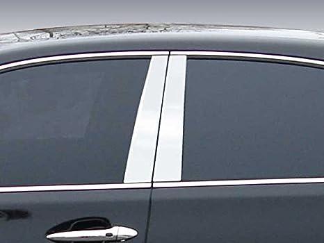 QAA FITS LS400 1995-2000 Lexus PP97100 4 Pc: Stainless Steel Pillar Post Trim Kit, 4-Door