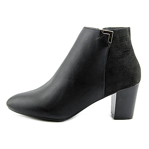 Black Fashion Gahriet Almond Karen Toe Scott Leather Womens Ankle Boots FqAW46Bx