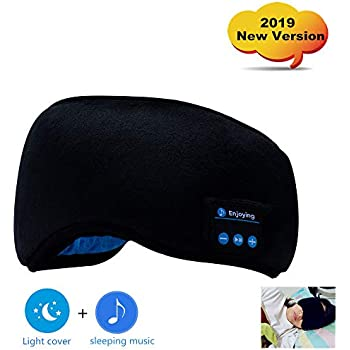 Amazon.com: Sleep Headphones Bluetooth Eye Mask for Sleeping ...