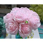 Kislohum-Artificial-Flowers-Bulk-Pink-Roses-10pcs-Real-Looking-Fake-Silk-Roses-for-Wedding-Bouquets-Floral-Leaf-Centerpieces-Party-Home-Decor-Baby-Shower-Pink