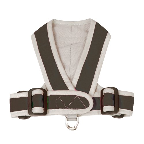 Precision Fit Harness - Chocolate Medium - From the Inven...